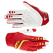 JT Racing Evo Protek Fader Gloves - Red-Yellow 2013